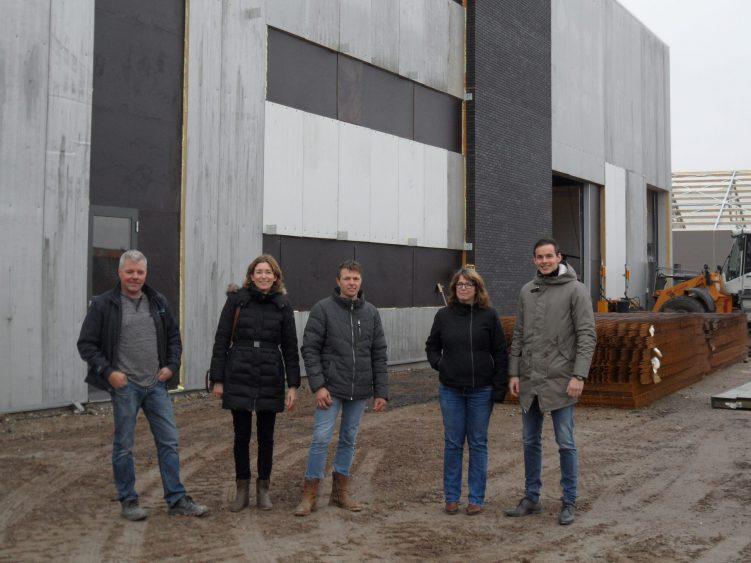 Bezoek RVO circulair utiliteitspand Staphorst