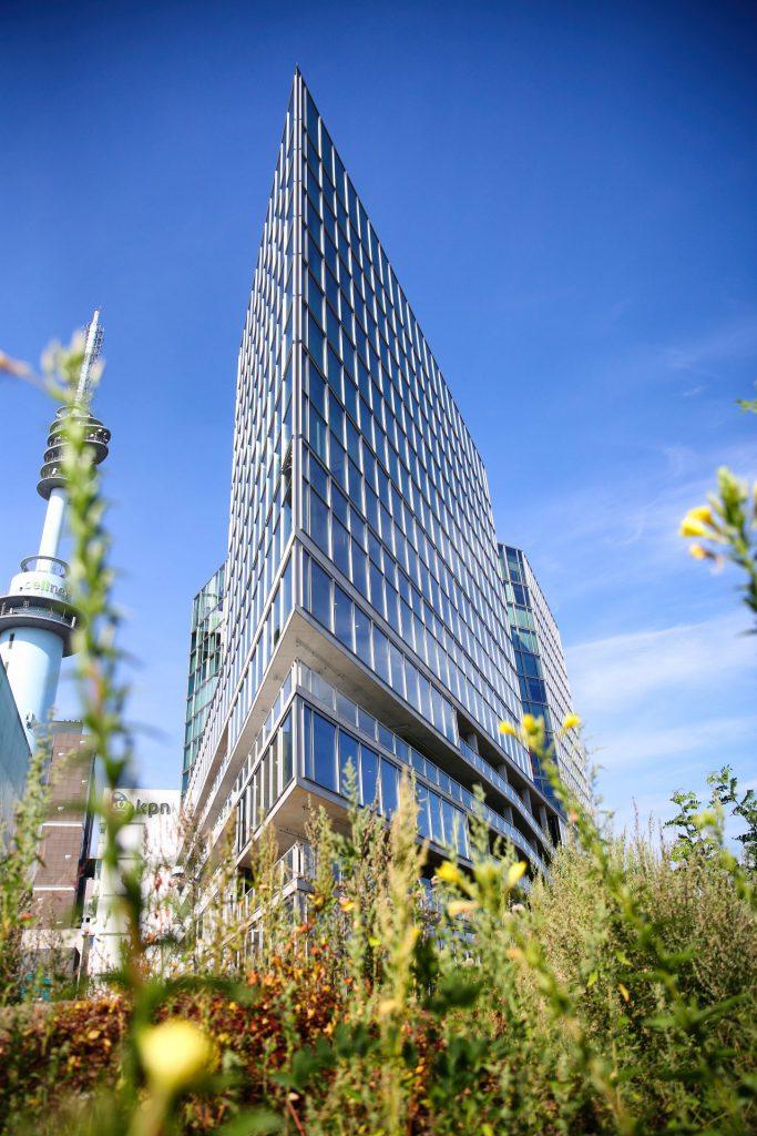Duurzaam gebouw Van der Valk Hotel Amsterdam Zuidas BREEAM Outstanding