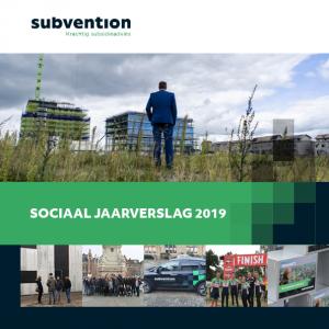 Sociaal Jaarverslag Subvention 2019